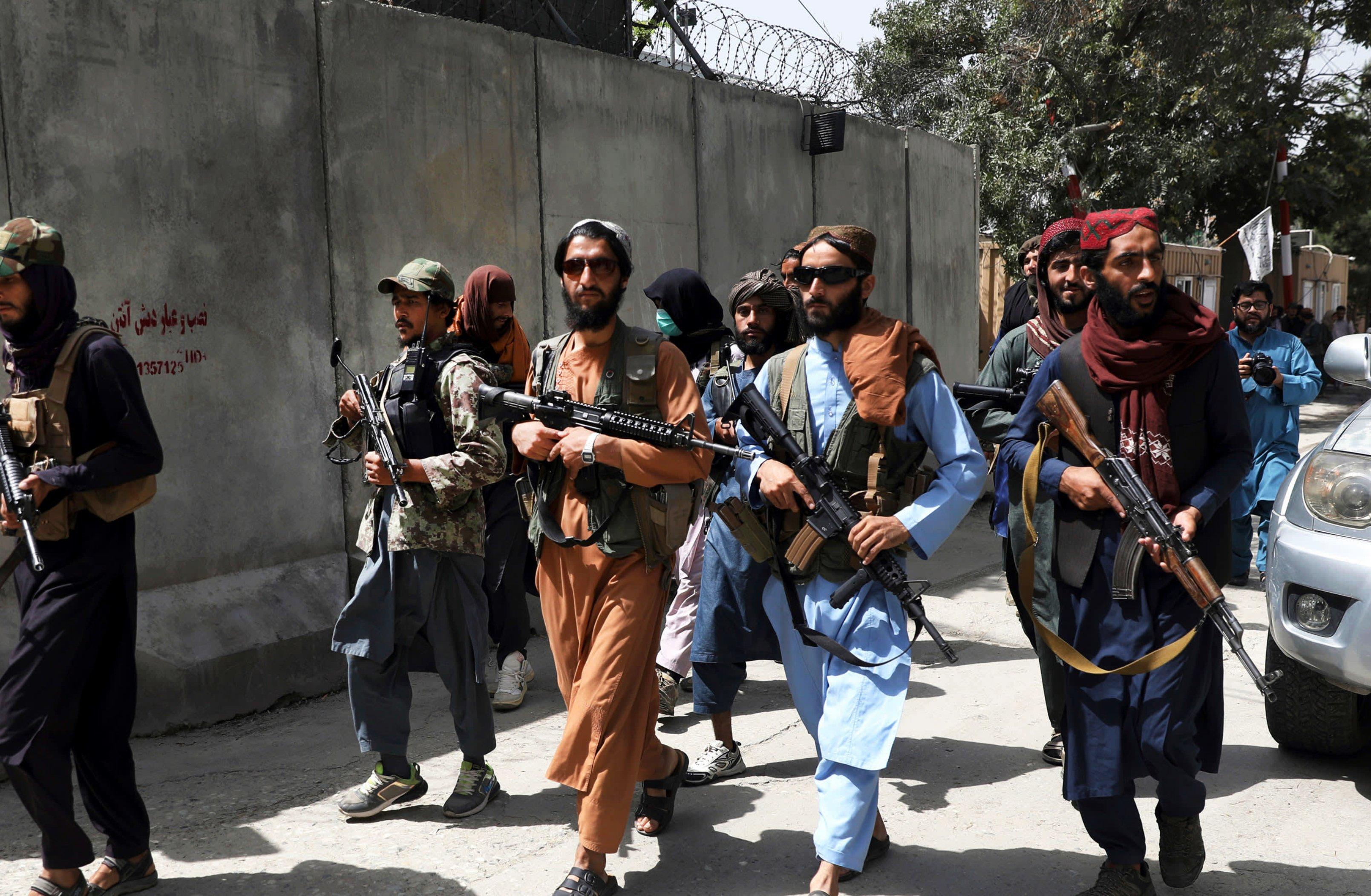 Taliban at Kabul airport